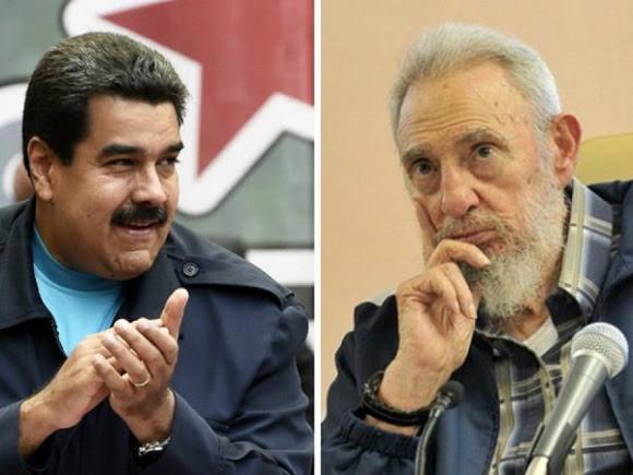 Maduro y Fidel
