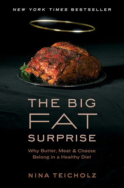 The Big Fat Surprise (book cover)