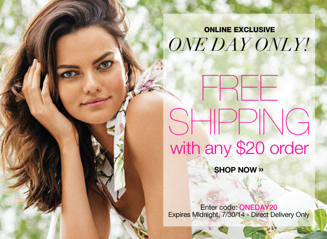Free Shipping with any $20 Order