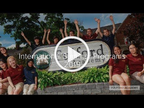 Fulford Academy International Summer Programs and Camps