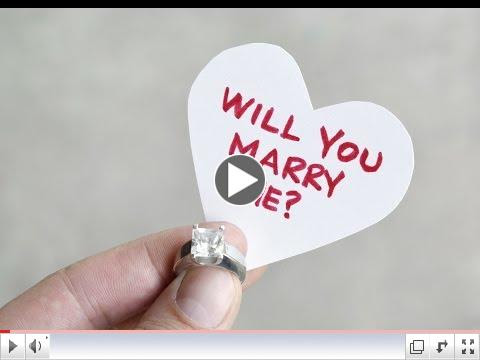 Funny Proposal video
