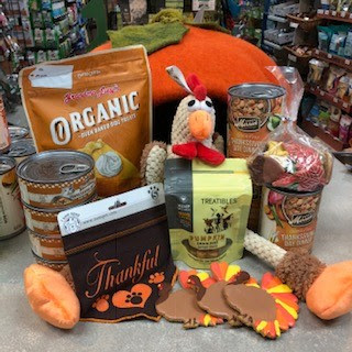 Thanksgiving Dinners for Dogs and Cats