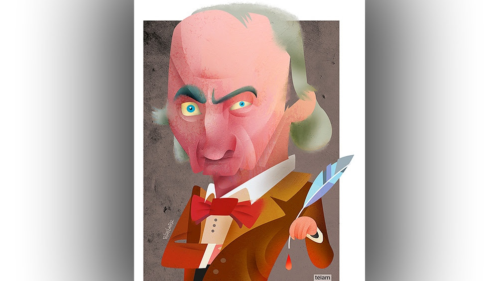 Poeta, traductor y crítico de arte, Baudelaire nació el 9 de abril de 1821 en París,