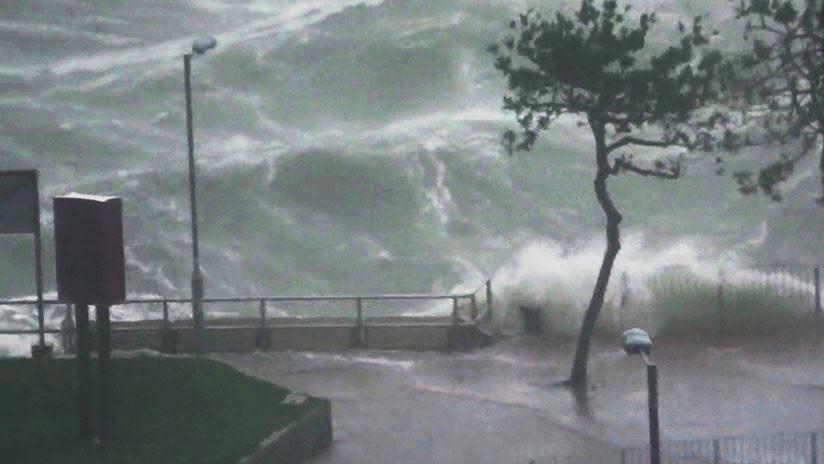 El tifón más violento del año: todo lo que se sabe de Mangkhut (VIDEOS, FOTOS)