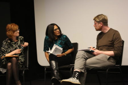 Lily Ford (Derek Jarman Lab), Yasmin Gunaratnam (Goldsmiths and editor of A Jar of Wild Flowers) and Chris Fite-Wassilak discuss Berger as activist.