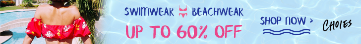swimwear promotions-up to 60% off
