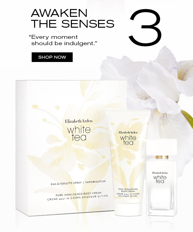 """AWAKEN THE SENSES """"Every moment should be indulgent."""" SHOP NOW"""