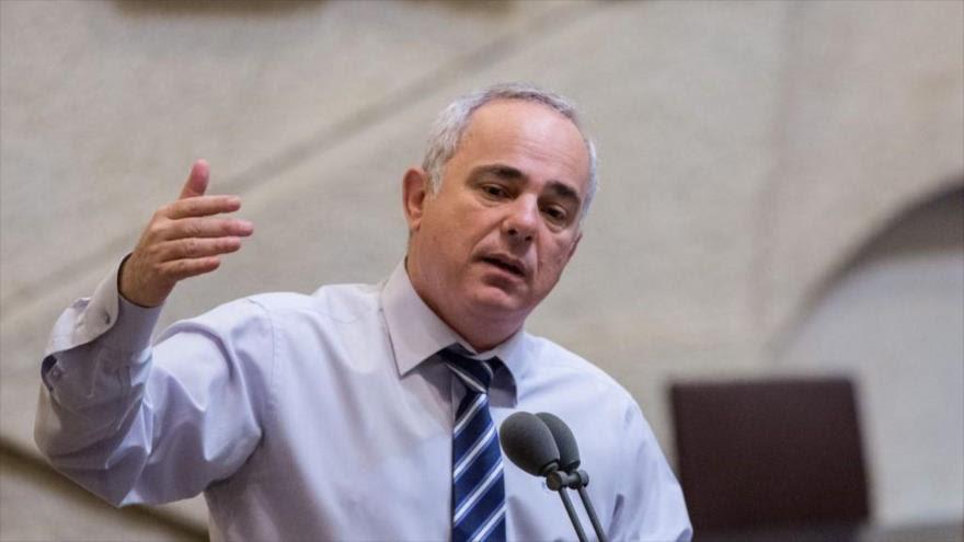 El ministro de energía del régimen israelí, Yuval Steinitz.