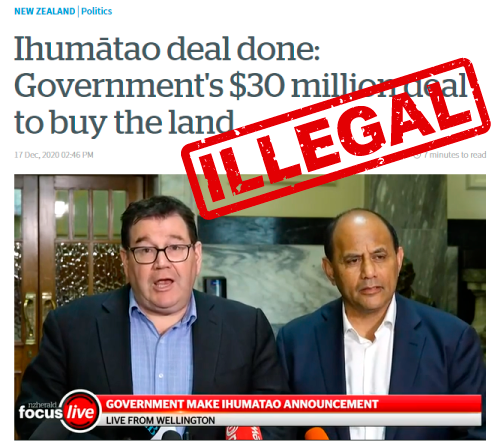 Illegal deal