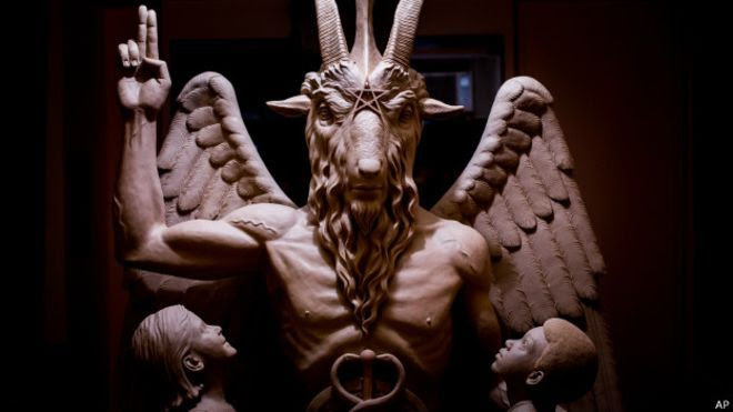 Resultado de imagem para templo satanico imagens
