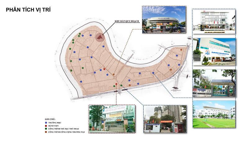 phân tích vị trí Shophouse King Crown Village Thảo điền quận 2