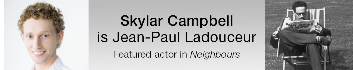 Skylar Campbell is Jean-Paul Ladouceur, Featured actor in Neighbours