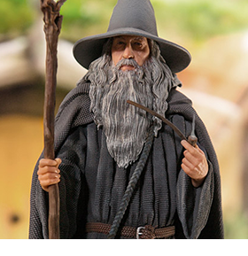 THE LORD OF THE RINGS GANDALF 1/10 DELUXE ART SCALE STATUE