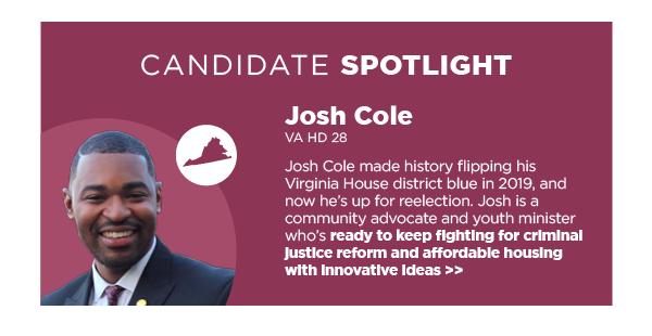 Candidate Spotlight: Josh Cole, VA HD 28
