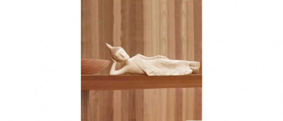 Purchase Online | The Reclining Buddha White Statue | 535334