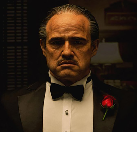 The Godfather Vito Corleone (1972) Life-Size Bust