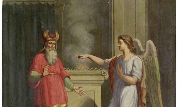 Archanioł Gabriel i Zachariasz - biblia.wiara.pl