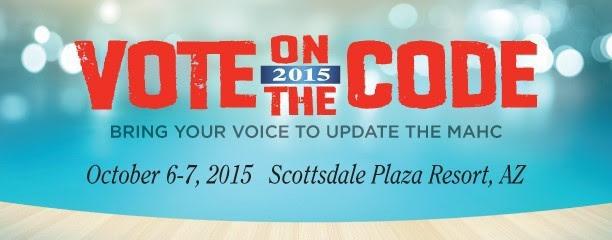 CMAHC Vote the Code Banner