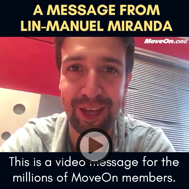 Lin-Manuel Miranda says thanks