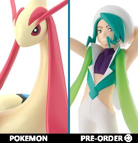 Pokemon Scale World Hoenn Region Wallace & Milotic Exclusive