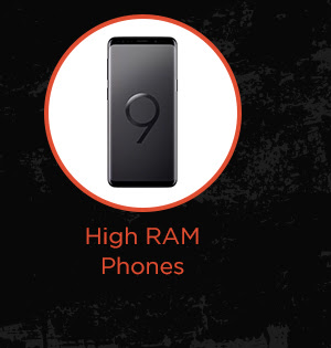 High RAM Phones