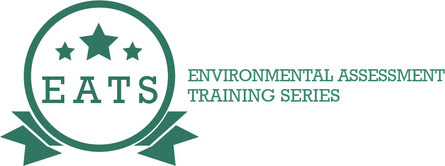 Environmental Assessment Training Series (EATS) graphic badge
