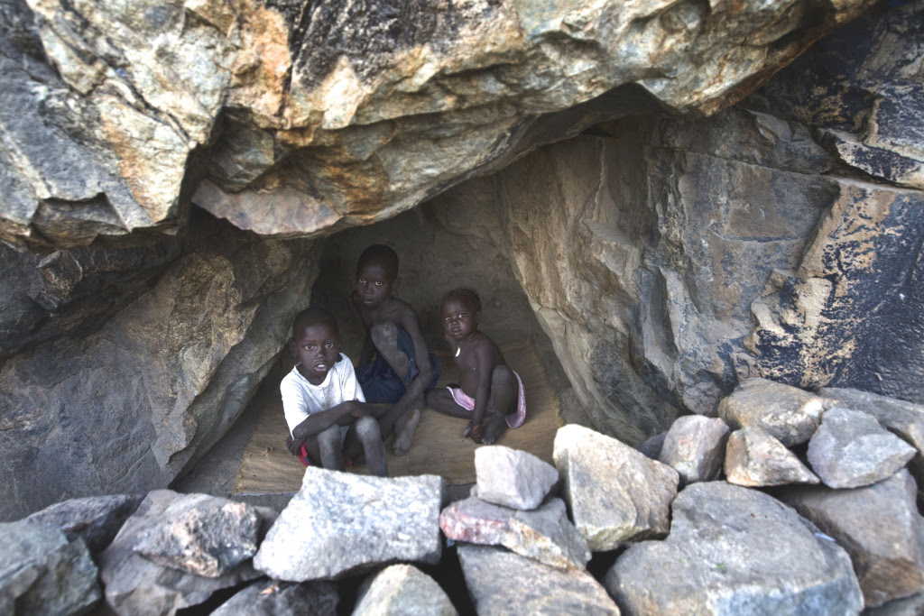 NUBA MONTAIN PEOPLE
