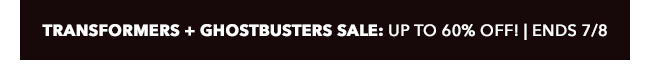 IDW Transformers and Ghostbusters Sale: up to 60% off! | Ends 7/8