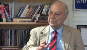 "Islamic scholar Akbar Ahmed claims that brutal Muslim ruler represented ""the idea of pluralist society in Europe"""
