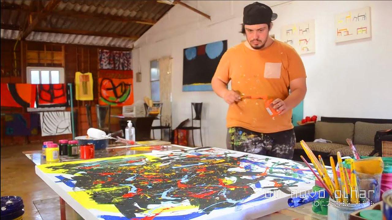 Lucio Piantino no Projeto Um Novo Olhar