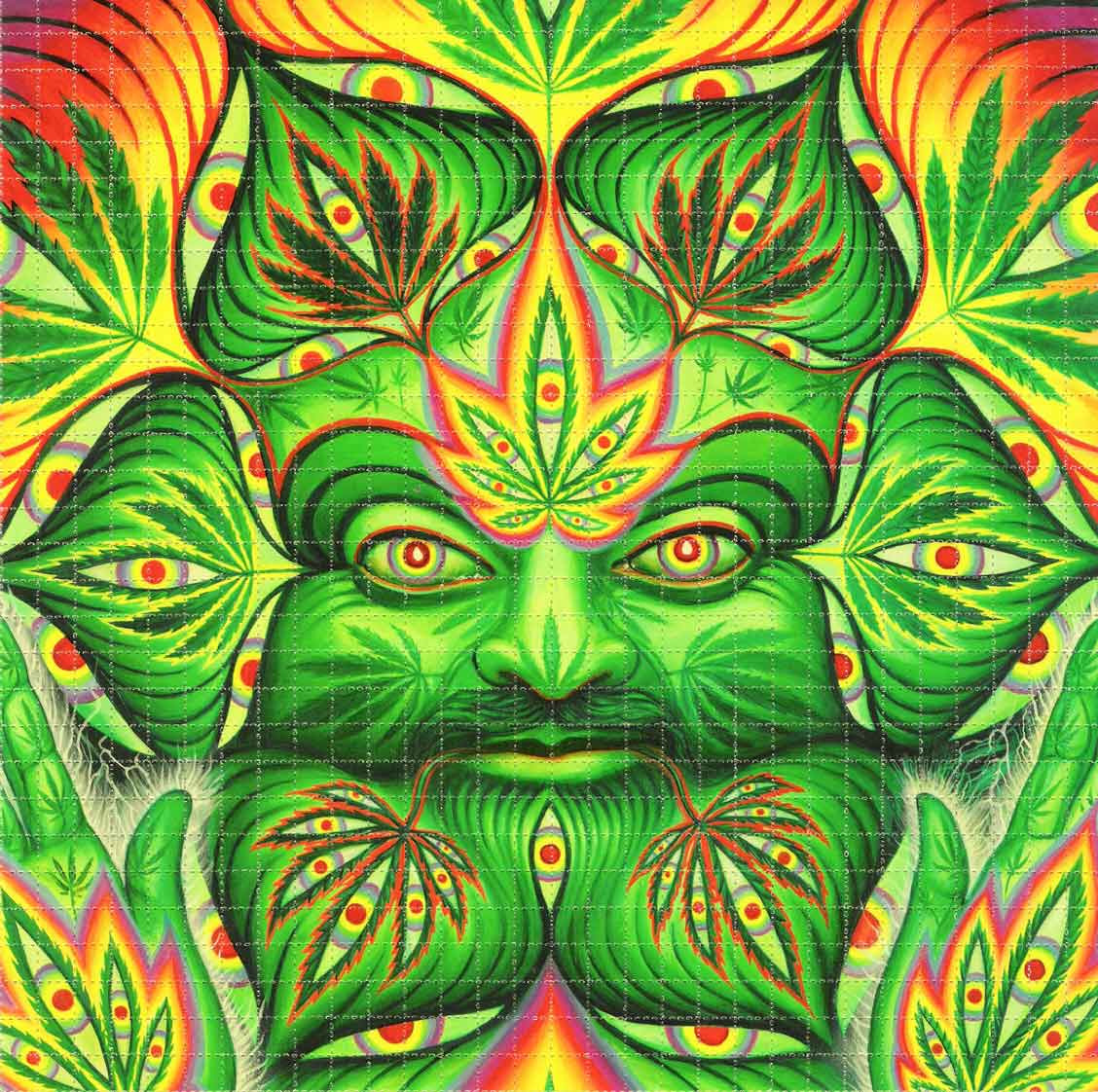 Alex Grey Cannabacchus Blotter Art