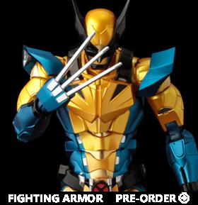 Marvel Fighting Armor Wolverine Figure