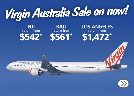 Virgin Australia International Sale At Webjet.com.au