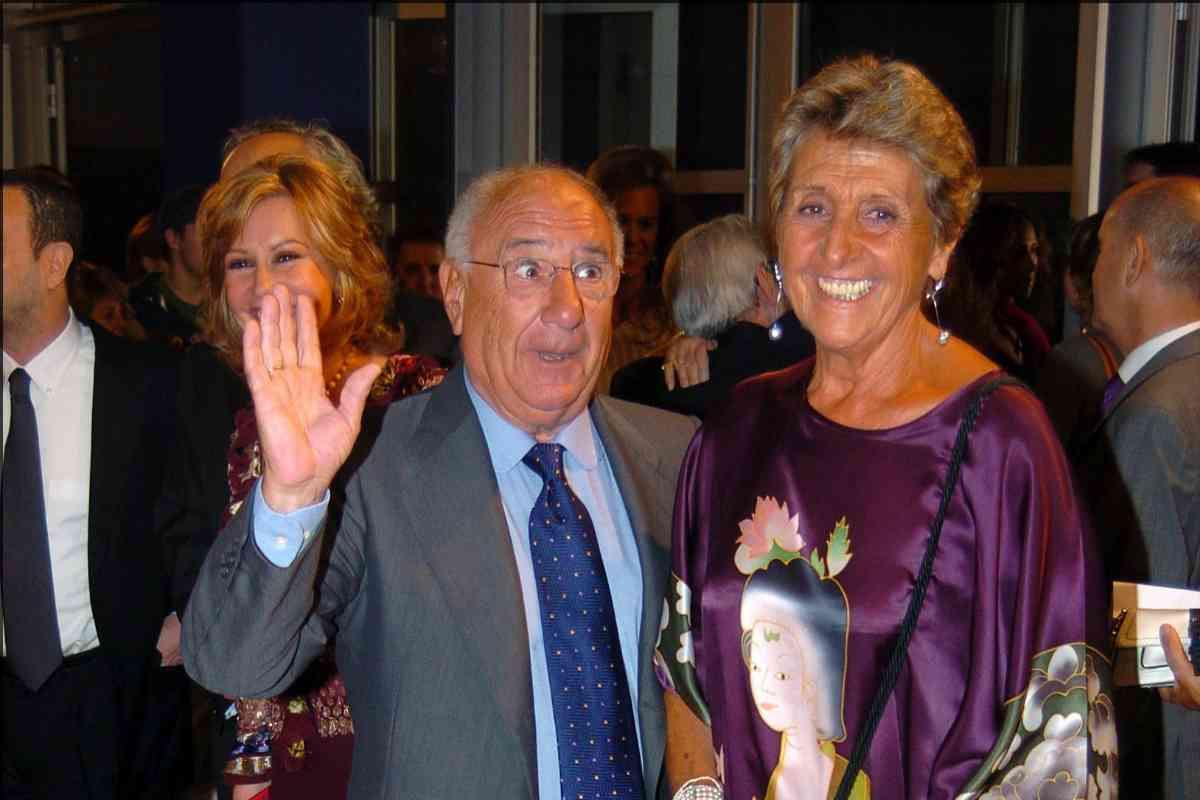 El actor y su mujer, Maite Imaz Armendi, en una imagen de 2004.