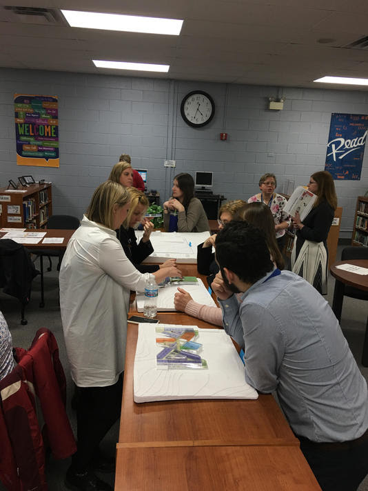 Lisle 202 Teachers Collaborate About New Elementary Building