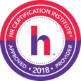 HR Certification Institute Approved Provider 2018