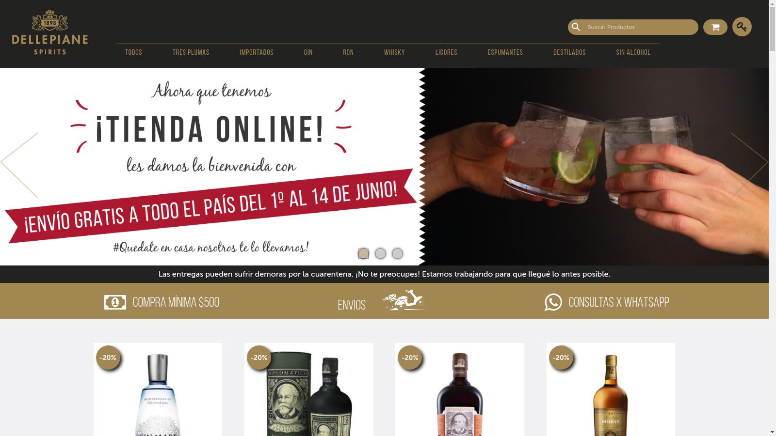 Dellepiane Spirits tienda online