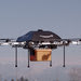 Amazon says its proposed cargo drone has a 10-mile range.
