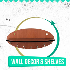Wall Decor and Shelves