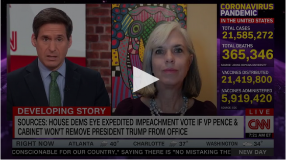Dem Rep. Clark: 'Trump Needs to Be Removed' — Impeachment Articles Could Be Brought 'as Early as Mid-Next Week' Image-254