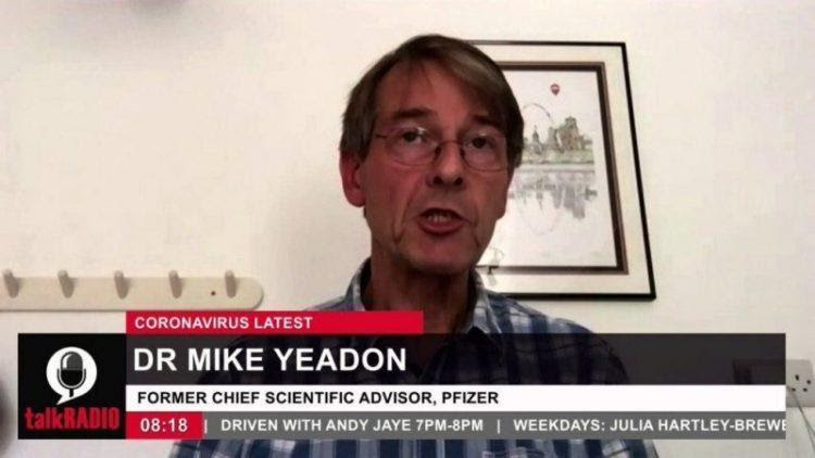 "Former Pfizer Executive Refutes Fauci & Lying Media On COVID Propaganda: ""It's Over,"" ""Curve Flattened Months Ago,"" ""No Second Wave"" Dr.-Mike-Yeadon-e1601501026299-750x422"