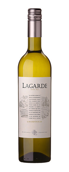 Lagarde Chardonnay 2018 - Bodega Lagarde