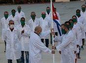 Los activistas políticos de la nación insular asiática repudiaron el bloqueo económico impuesto a Cuba desde EE.UU.