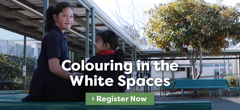 Colouring in the White Spaces