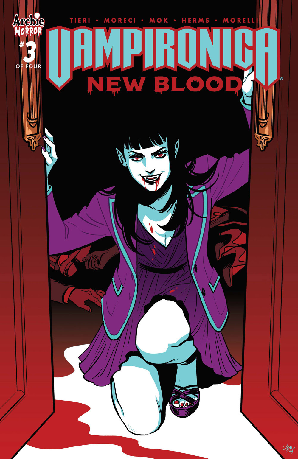 VAMPIRONICA: NEW BLOOD #3: Cover A Mok