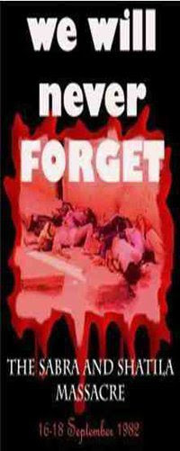 Sabra & Shatila Massacre – in pictures