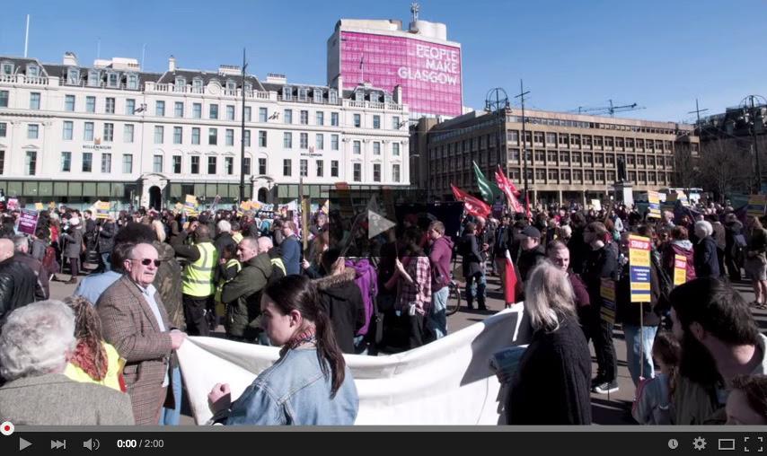 GPPWatch: UN Anti Racism Day, March in Glasgow (21.03.2015)