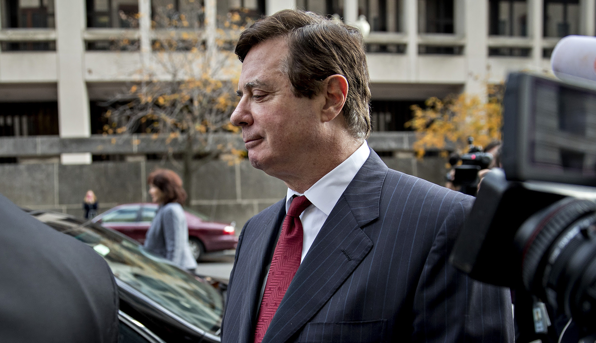 Former Trump Campaign Chairman Paul Manafort Bond Hearing