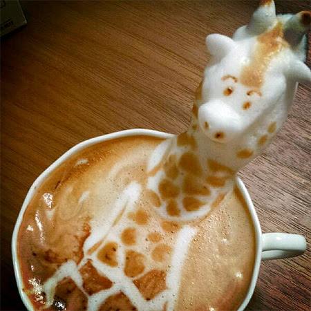 3D Coffee Art by Kazuki Yamamoto