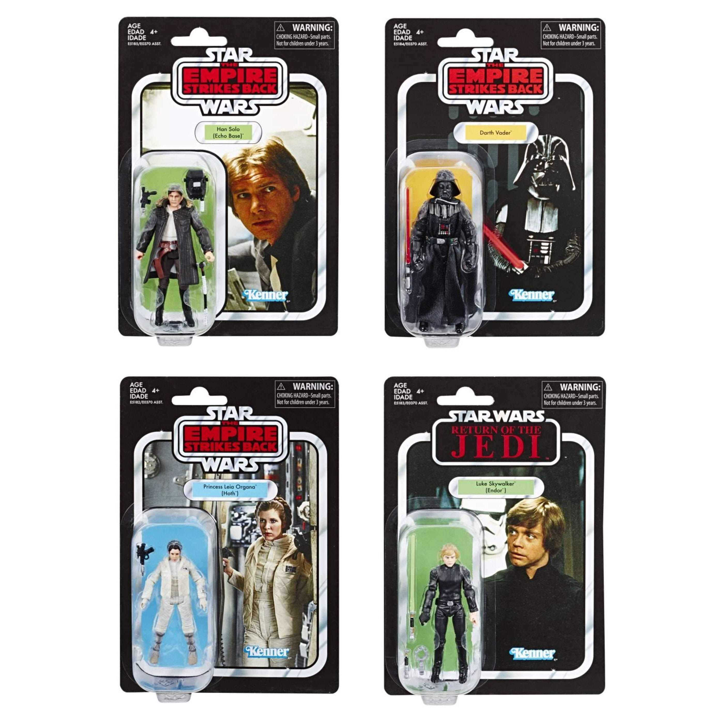 Image of Star Wars The Vintage Collection Action Figures Wave 5 - Set of 4